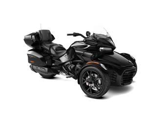 Can-Am Spyder F3 LTD Steel Black Metallic '20