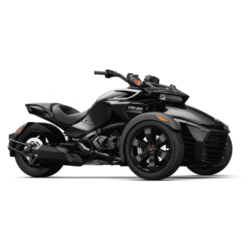 Can-Am Spyder F3 SE6 Steel Black Metallic '18